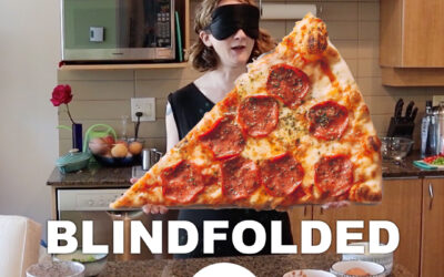 Pizza dough, so easy you can make it blindfolded.
